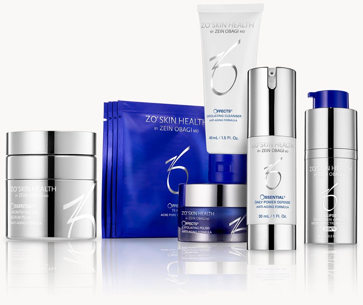 Hautpflegeprodukte in Ihrem Medispa