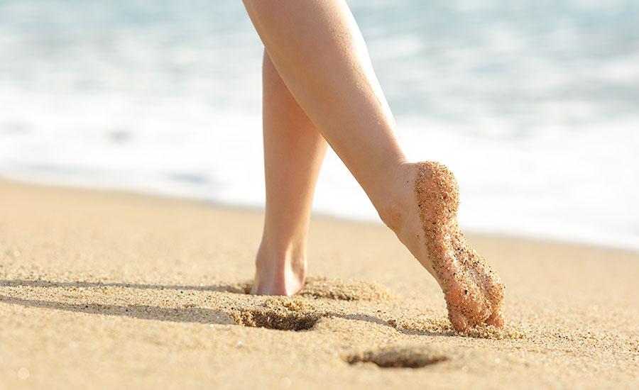 Schöne Füße dank einer Behandlung im MEDISPA