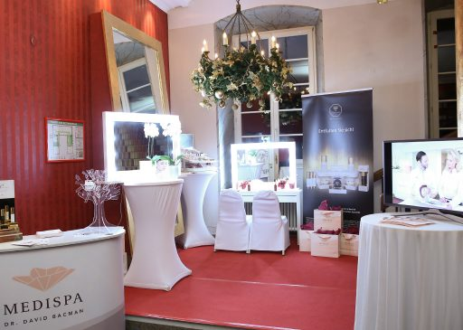 Beauty-Lounge MEDISPA auf dem Charityevent 2016