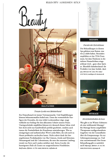 elle city januar 2017 medispa facials tda treatment