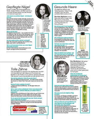 Tipps für eine schöne Haut in der InTouch 2015 von Dr. Bacman