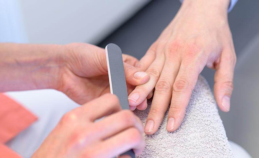 Maniküre für Männerhände