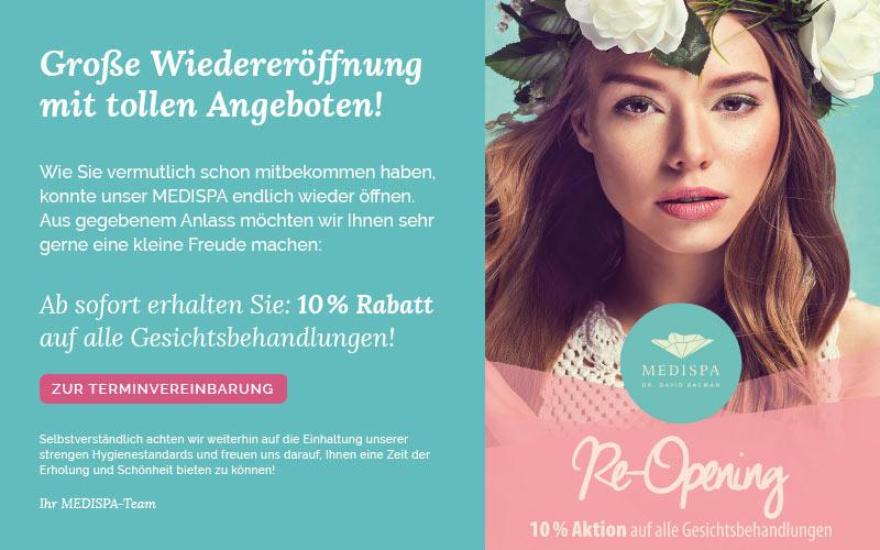 Reopening aktion kosmetikinstitut koeln