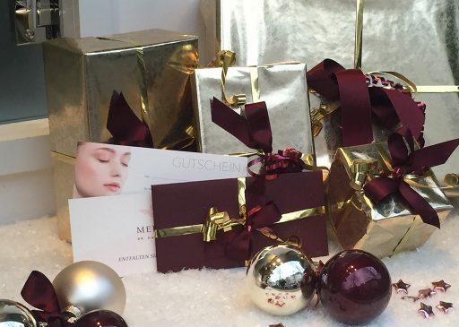 Gutscheine als Weihnachtsgeschenk im MEDISPA, Dr. Bacman Köln