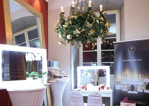 Beauty lounge auf dem Charityball von MEDISPA mit Cell Premium